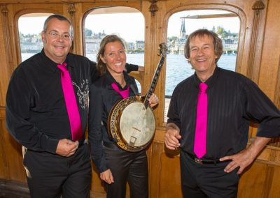 Gilles REMY Jazz Band en Trio pour MCI Travel & Givaudan Cruise Lucerne 2016