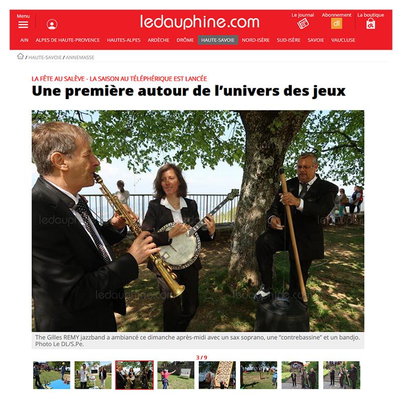 Le Dauphiné édition Annemasse - La Fête du Salève